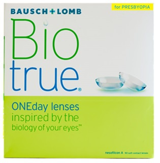 Biotrue 1 day for presbyopia 90 pack